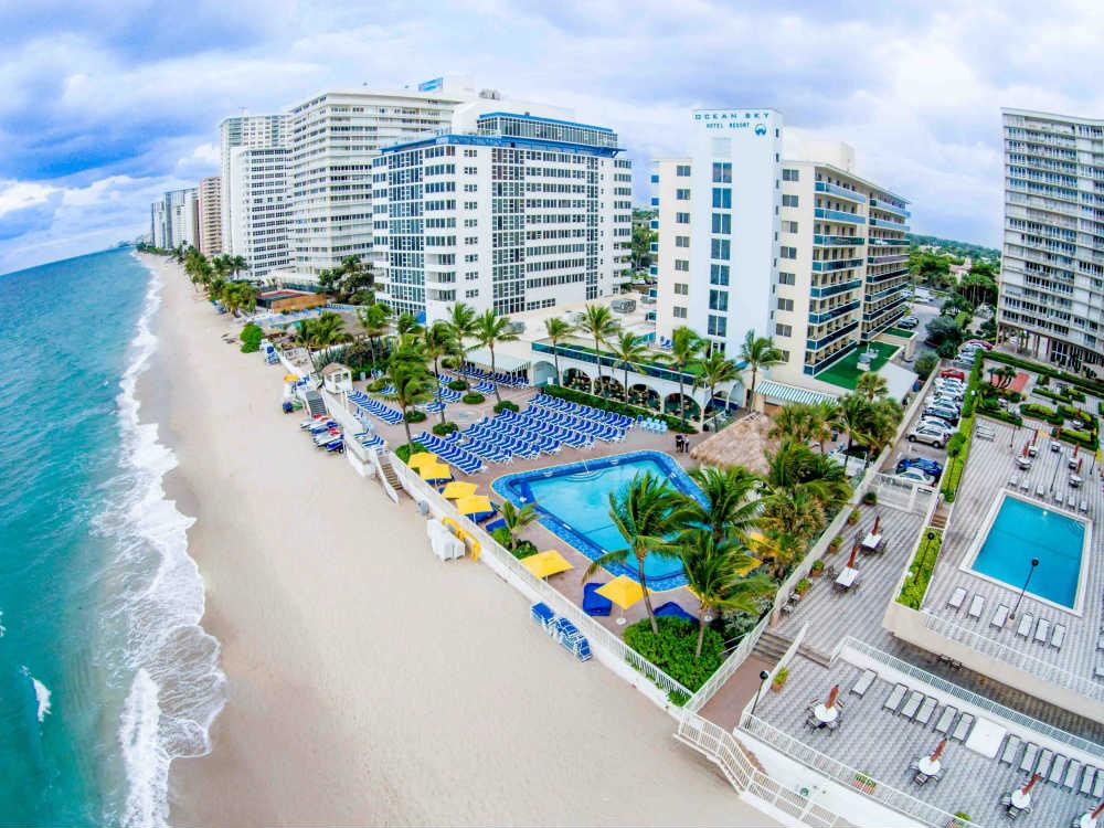 Hôtel et centre de villégiature Ocean Sky
